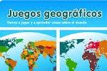 Juegos geográficos. Localización geográfica en mapas del mundo.