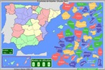 Mapas interactivos de España.